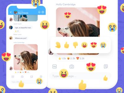 Flick - Reactions UI