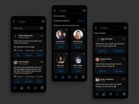 LinkedIn Black Out Mode