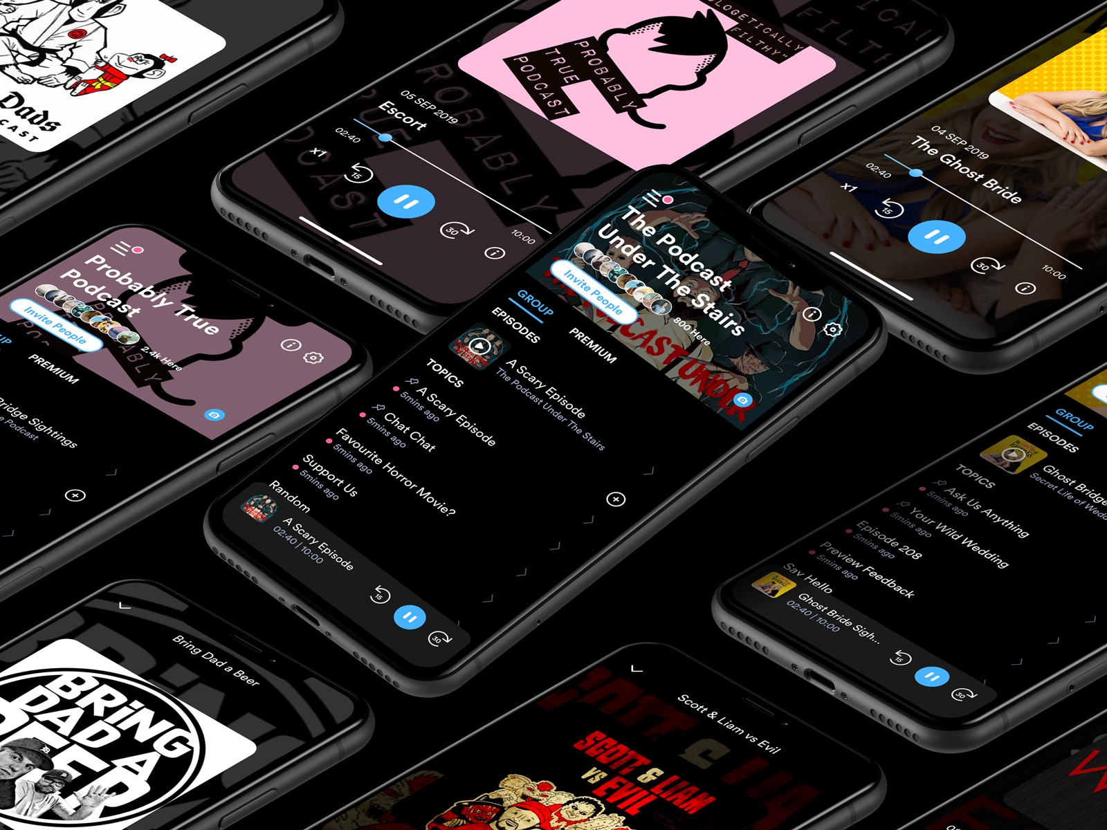 FlickChat - Dark Mode