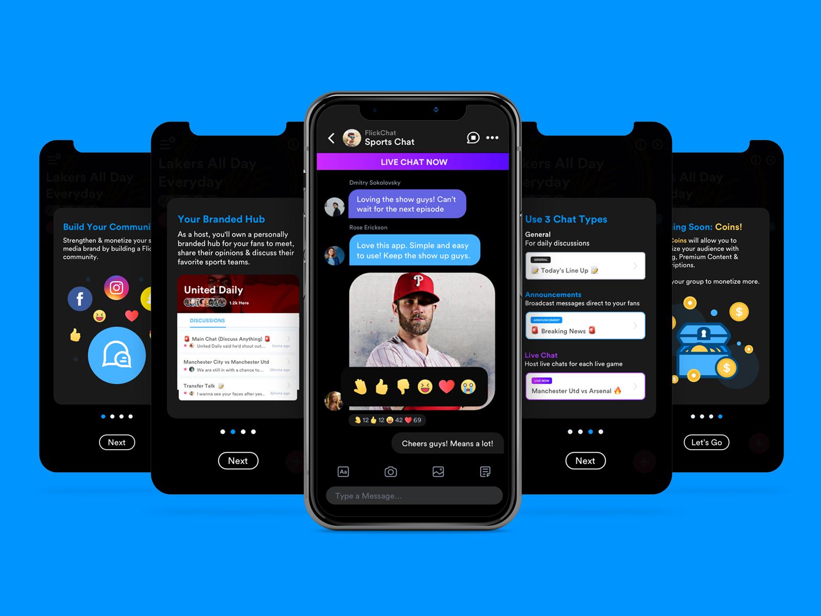 FlickChat - 4 Step Tutorial