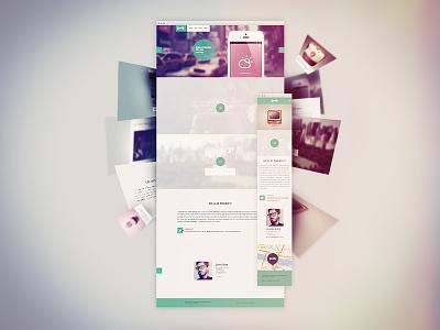 Goodly Portfolio . FREE WP Responsive Theme wordpress responsive free theme colorfull green blue light red portfolio onepage download