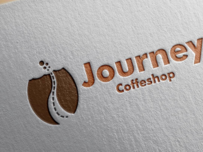 Logo For Journey Coffeshop indonesia bandung