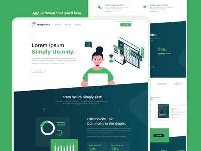 Graphic design Landing page | Homepage illustrations uidesign website design illustraion design