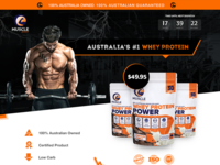 Landing Page for Muscle protein