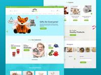 Four beans Ecommerce website