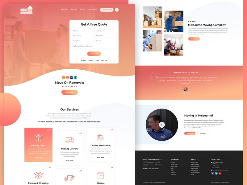 Homepage | Landing Page website creative  design clean  creative ui  ux design photoshop design landing page homepage