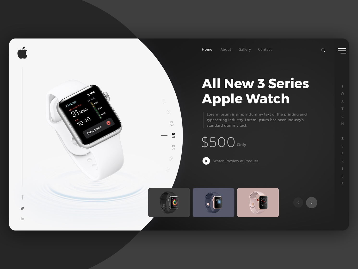 Watch Banner Design By Stark Edge On Dribbble