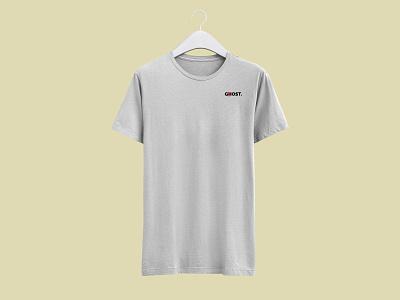 GOST. Tshirt simple white mode fashion graphic  design tshirt mtl new brand marque illustration gost ghost company clothes branding logo identity design visual brand