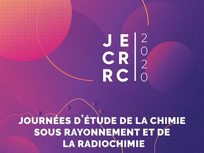 JECRRC cemhti cellule logo branding identity degrade fade color affiche design visual illustration illustrator vector