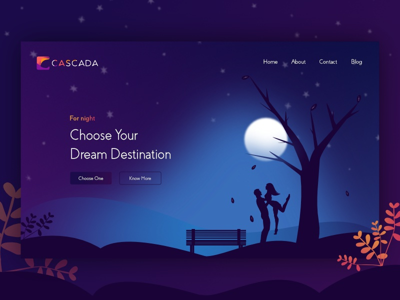 Landing page concept ux web website vector ui space dark night typograpgy enviroment logo landing page illustraiton sketch drawn gredient design system design color pallete coloful branding