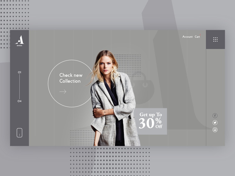 E-commerce Landing page community inspiration concept web deisgn website ui ux typogaphy branding grid logo home page landing page shopping e-commerce grid fashion