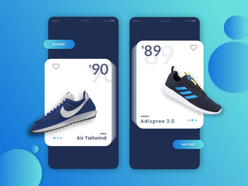 Mobile App ecommerce app ecommerce gredient mobile app design mobile app design web uiux ui