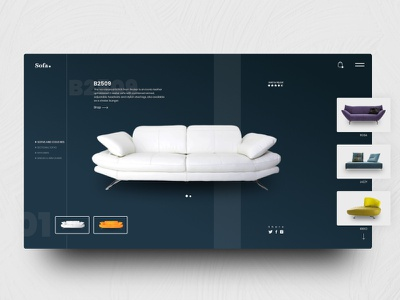 Sofa  E-commerce interface e-commerce design e-commerce design category page categories web grid dark design system furniture inspiration ui ux ecommerce gredient website vector logo landing page