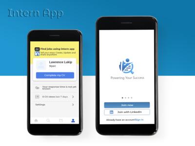 Intern App intern app