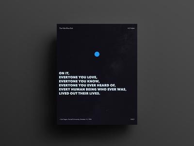 Pale Blue Dot 8x10