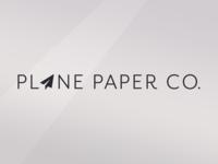 Plane Paper Co. Brand