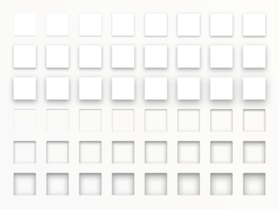 Material Design Shadows Sketch Layer Style Library