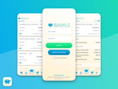 Bankle App Product Design