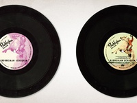 Bobbejaan Vinyl Record Label