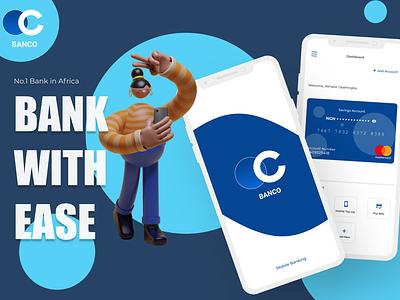 Mobile banking app UI design feedback figma branding mobile design ux app design ui