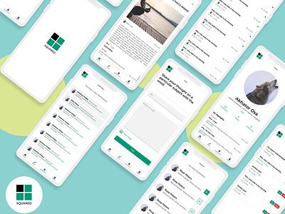 Mobile App For Writers clean designer mobile design app design app design mobile ui writers mobile app design uiux ux ui