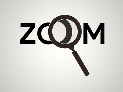 Remake of Zoom typography type illustration icon branding vector typography logo flat