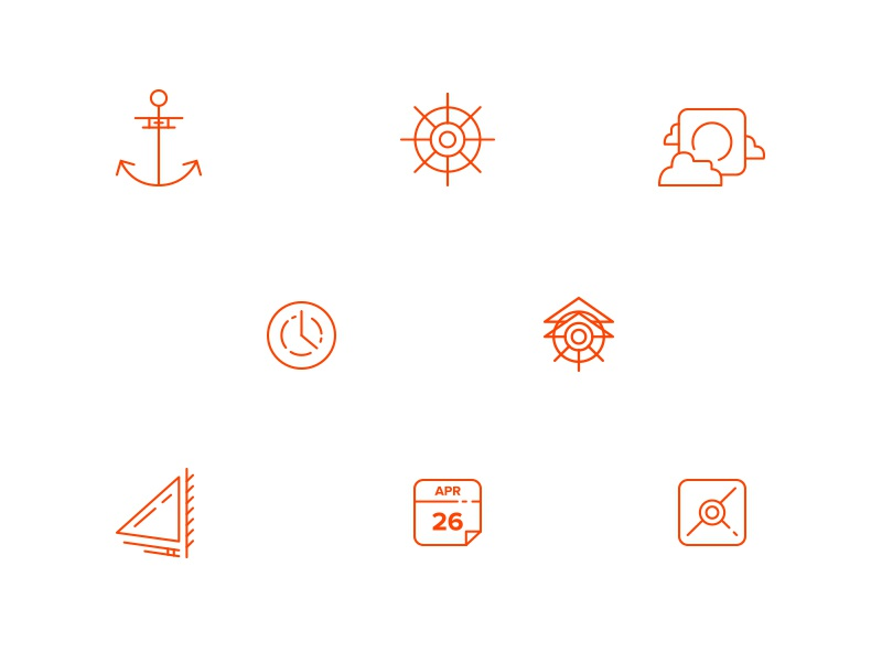 Airship website icons