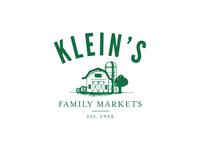 Klein's Family Markets Logo