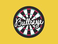 Never Miss Bullseye Coaster hand lettering coaster design sticker mule coaster