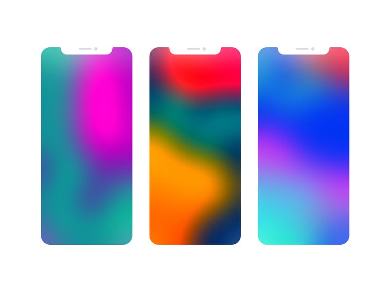 Happy Spring - iOS Gradients background gradient background spring iphone 10s iphone ios gradient gradients