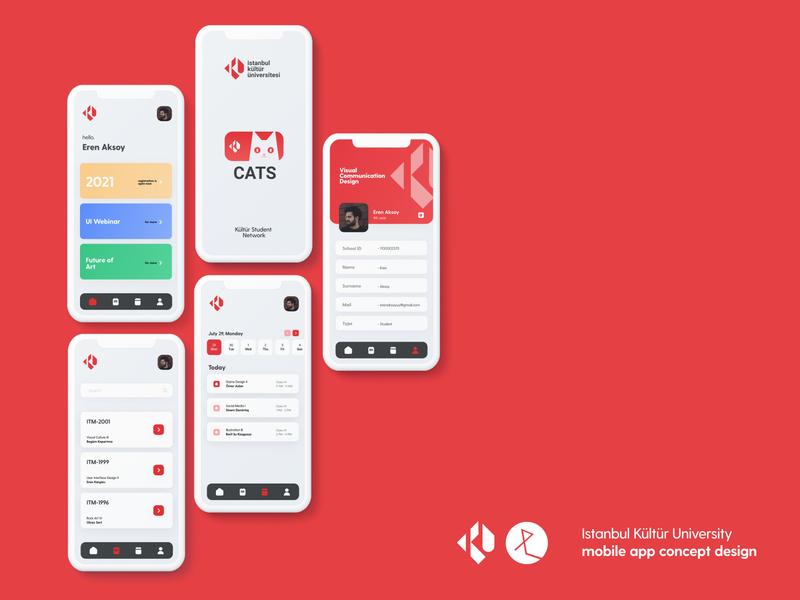 University Application Design figmadesign figma minimal flat ui design app ux uidesign school university