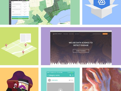 Colorful portfolio rainbow website colorful portfolio