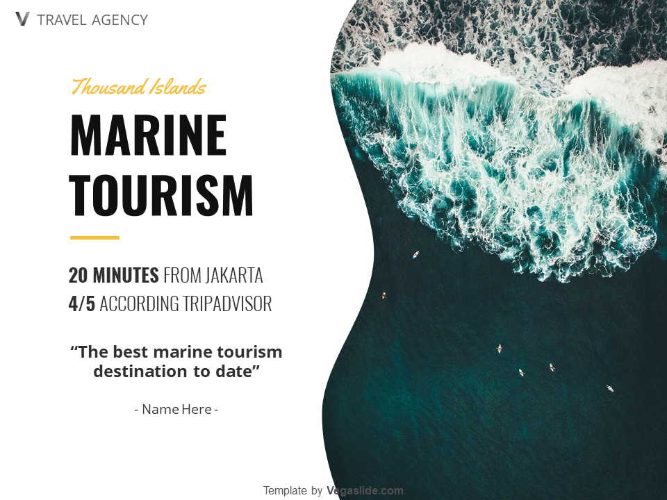 Marine Tourism Powerpoint Template Download Free By