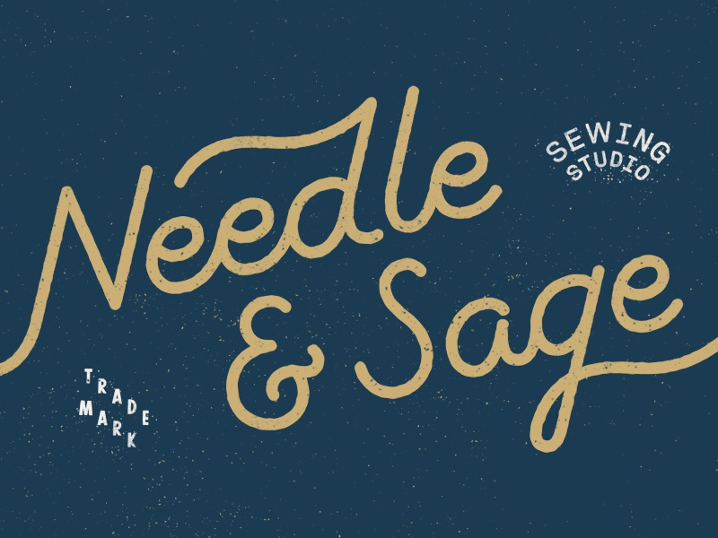 Needle and sage dribbble aaron bouvier 001