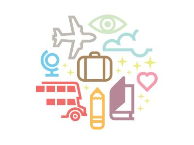 Éducatours 2 logo icon travel education