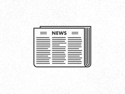 Non-Profit Journalism #3 newspaper journalism news reporting icon press