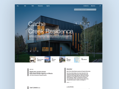 Bluefence Landing Page