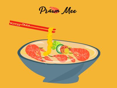 Asian Food Illustration