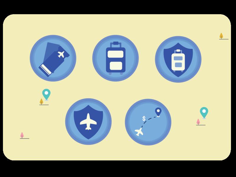 Icon Exploration - Travel set 1