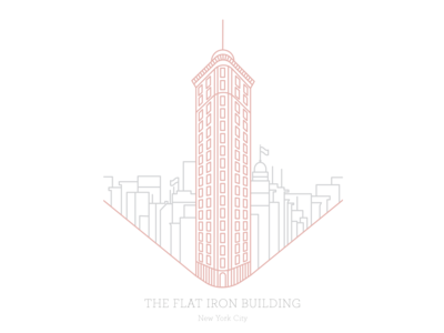 The Flat Iron Building 1902