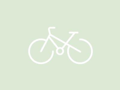 Minimalist Illustration: Bicycle