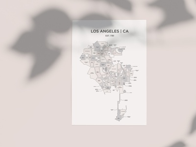 The Neighborhoods of Los Angeles