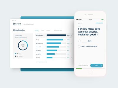 Stanford Medicine App mobile ui design ux ui