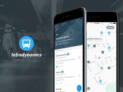 Infradynamics App app ux ui design