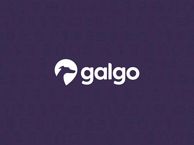 Galgo App Logo logo branding app design
