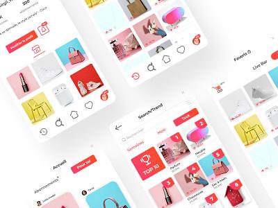 Extension Charioo e-commerce extension app ux ui design material design branding ux ui figma design