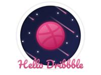 [ Illustration ] Hello Dribbble!