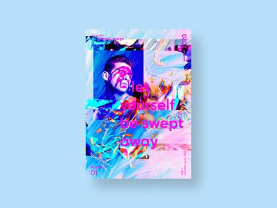 Be swept away | VISION™ 01 - 2020 illustration art poster art poster design poster grunge photoshop adobe photoshop color adobe