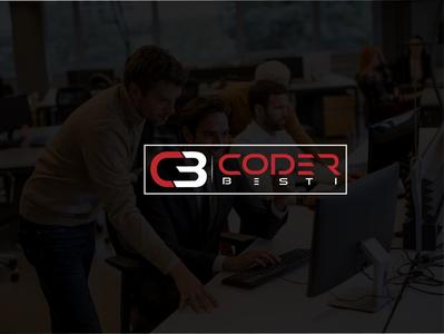 Coder Best Logo Design business logo custom brand identity vector branding unique creative minimal flat logo