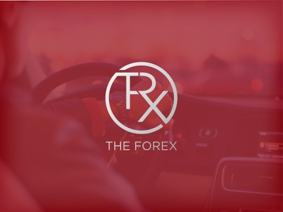 The Forex car logo icon illustration logofolio logodesign business logo professional logo brand identity custom creative unique minimal modern flat